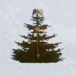Sim1-Baum, 12cm, Krawattennadel, 30,-