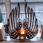 4. Flügel mit Teelicht 89,-