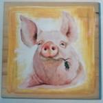 Kitschockunst, Schwein
