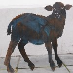 3. Schaf Bronzepatina129,- verk.
