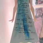 Mädchen 50cm mit Gedichtkleid, 250,00€