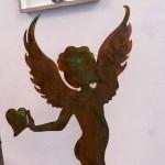 Engel Amor mit Kupferpatina 59,-