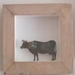 11. Kuh, Bronzepatina 29,-