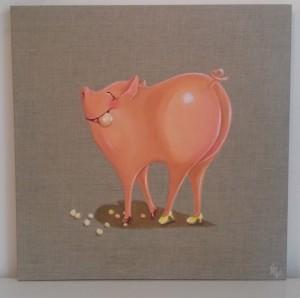 Perlen- Schwein