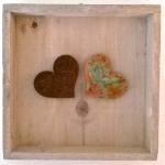 63. Herzen mit Magnet, im Holzrahmen Natur, 41,- (zum verändern)