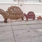 Riesenschildkröte,  140x100cm 260,-