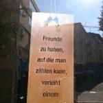 Sim1- Spruchschild, 18x38cm 37,-
