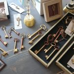 Schlüssel, Gold und Kupfer legiert