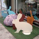 Sim1 Kaninchen , blau oder weiß 160,-