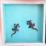 106. Geckos 44,-