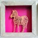 125. Zebra, kupferfarbig,32,-