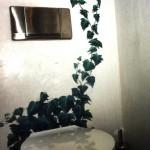 Toiletten Wandmalerei