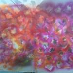 Acryl spray paint