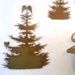 fliegender Tannenbaum,  70cm  49,- (ohne Engelchen)