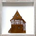 95. Stuttgarter Schellenturm im Holzrahmen  32,-