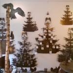 fliegende Tannenbäume
