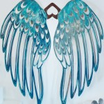 Wandobjekt Flügel, 130x130cm 900,- verk.