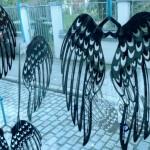 15. Flügelchen 20cm mit Bronzepatina 19,-