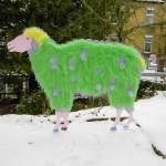 Schaf im Plüschpelz