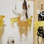 18. Glimmerhirsch, Weihnachtsschmuck 12,-