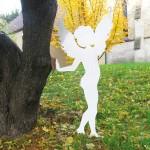 6. Engel Amor,  Antikweiss lackiert  130,-